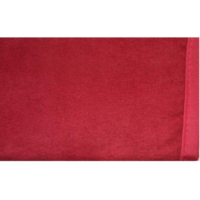 Jeté de canapé Rouge Mauve 140x140 cm pas cher FABRIQUE EN FRANCE
