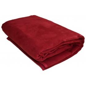 Jeté de fauteuil Rouge 140*140 cm pas cher