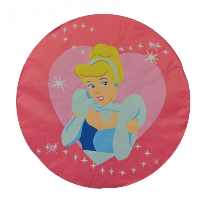 POUF disney princesse geant 110 cm de diametre couleur rose