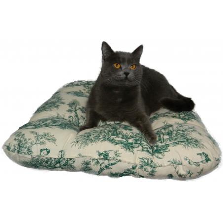 Coussin Tapis Matelas pour chat grand luxe lavable 60*65 cm