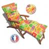COUSSIN BAIN DE SOLEIL motif jungle 180*60*12 cm