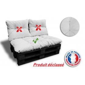 COUSSIN ASSISE palettes DECLASSE 120*80 cm blanc ép 17 cm !