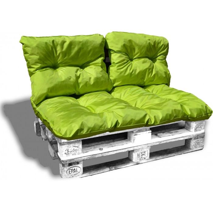 kit coussin salon palette impermeable ext rieur 120 80 cm. Black Bedroom Furniture Sets. Home Design Ideas