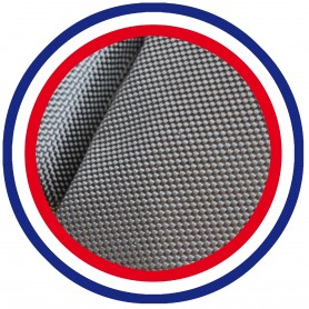 COUSSIN BAIN DE SOLEIL GRIS PES 180*60*12 cm HAUTE QUALITE