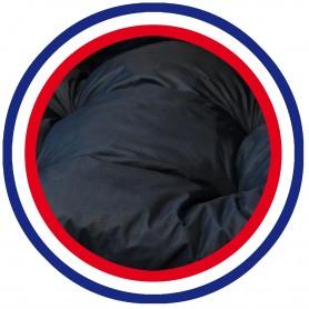 COUSSIN BAIN DE SOLEIL NOIR PES 180*60*12 cm HAUTE QUALITE