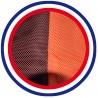 COUSSIN BAIN DE SOLEIL AMBRE PES 180*60*12 cm HAUTE QUALITE