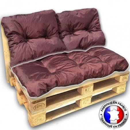 coussin ext rieur pour salon palette 60 80 pas cher fabriqu france. Black Bedroom Furniture Sets. Home Design Ideas