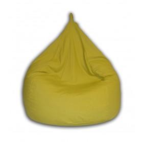 Poire pouf adulte  vert olive fabrication francaise