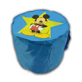 pouf BLEU  mickey mousse top model disney