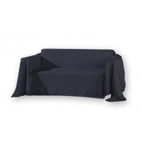 Jeté de canapé noir