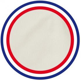 Coussin pour chaise blanc écru 100% coton fabriqué en France