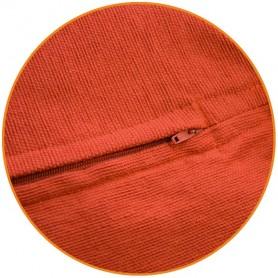 petit pouf carré orange