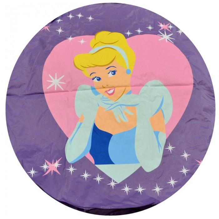 POUF DISNEY princesse geant 110 cm de diametre couleur mauve