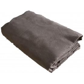 Jeté de canapé gris beige 180*270 cm pas cher