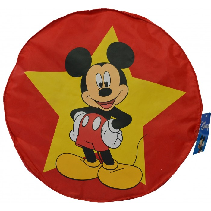 pouf rouge  mickey mousse top model disney