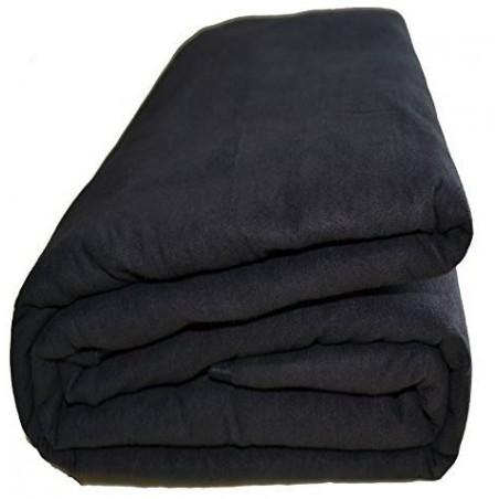 Jeté de canapé noir 180*270 cm pas cher