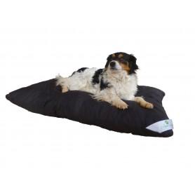 Coussin pour chien noir pas cher fabriqué en France